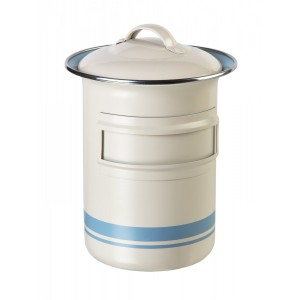 Tin Container w/ Label Slot, Jamie Oliver