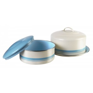 Tin Cake Container w/ Lid Set, Jamie Oliver