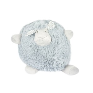 BLUE GREY SHEEP PLUSH TOY BALL