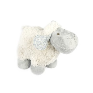 GREY STANDING SHEEP PLUSH TOY