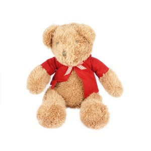 BROWN TEDDY BEAR WITH VEST