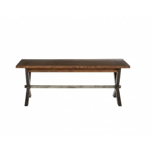 Cross Leg Coffee Table Smokehouse VC