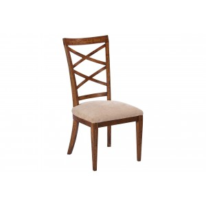 Double Cross Back Beidermeier Side Chair