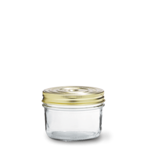 LE PARFAIT GLASS SCREW TOP PRESERVING JAR 350ML