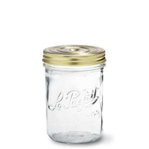 LE PARFAIT GLASS SCREW TOP PRESERVING JAR 750ML