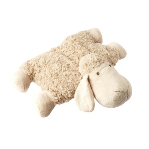 LYING SHEEP CUSHION BEIGE 50CM