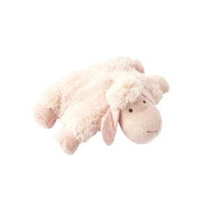 LYING SHEEP CUSHION PINK 28CM
