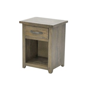 1 Drawer Bedside Smokehouse Rustic