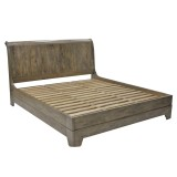 Bedstead Open Foot Bed Frame 200x200cm
