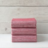 Red Knitted Napkin set of 3