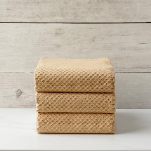 Camel Jacquard Napkin set of 3