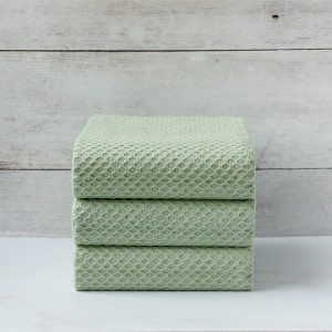 GREEN JACQUARD NAPKIN SET OF 3