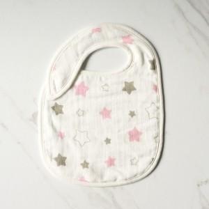 Snappy Bib Twinkle In Pink