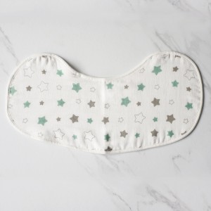 Twinkle In Green Burp & Bib