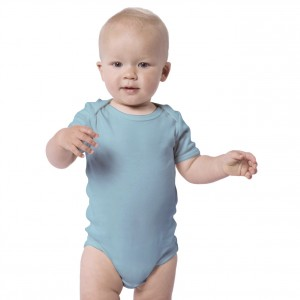 Blue Baby Bodysuit Short Sleeve (Jumper)