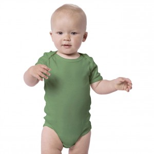 ARMY GREEN Baby Bodysuit Short Sleeve (Jumper)
