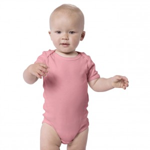 PINK Baby Bodysuit Short Sleeve (Jumper)