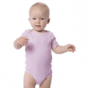 PURPLE Baby Bodysuit Short Sleeve (Jumper)