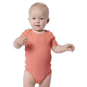 SALMON Baby Bodysuit Short Sleeve (Jumper)