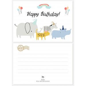 Happy Birthday Greeting Post Card