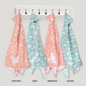 Jacquard Baby Hooded Towel