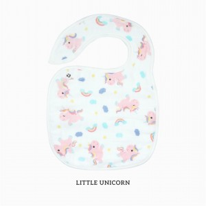 Little Unicorn Snappy Bib