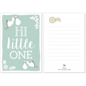 Hi Little One Greeting Card
