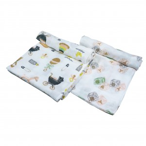 Nursery Swaddle Set of 2 (Girl)
