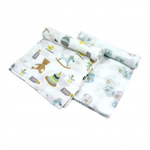 Nursery Swaddle Set of 2 (Boy)