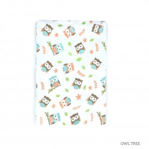 Owl Tree Tottori Baby Towel