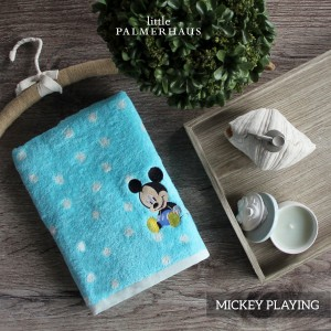 Mickey Playing Disney Baby Towel