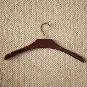 Schima Wood Dark Brown Hanger