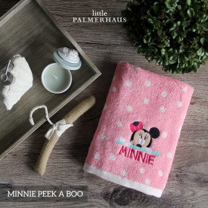 Minnie Peek A Boo Disney Baby Towel