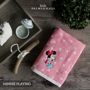 Minnie Playing Disney Baby Towel