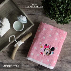 Minnie Star Disney Baby Towel