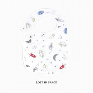 Lost In Space Snappy Bib