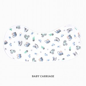 Baby Carriage Burp & Bib