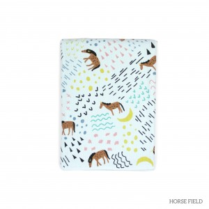 Horse Field Tottori Baby Towel