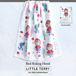 RED RIDING HOOD LITTLE TERRY TOWEL