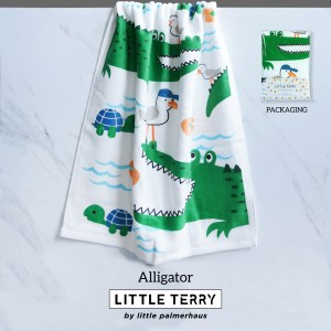 ALLIGATOR LITTLE TERRY TOWEL