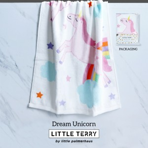 DREAM UNICORN LITTLE TERRY TOWEL