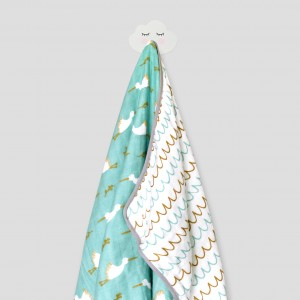 DREAMY STORK SNUGGLY BLANKET (TOSCA)