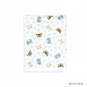 Brown Bear Tottori Baby Towel