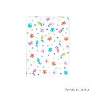Popping Butterfly Tottori Baby Towel
