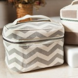 Chevron Cosmetic Case
