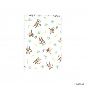Monkey Tottori Baby Towel