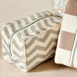 Chevron Cosmetic Pouch
