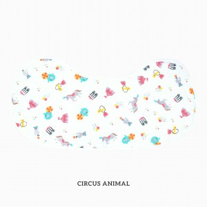 Circus Animal Burp & Bib