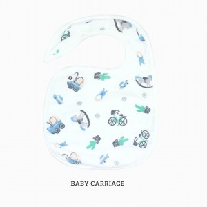 Baby Carriage Snappy Bib