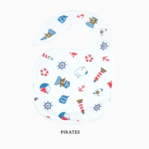 Pirates Snappy Bib